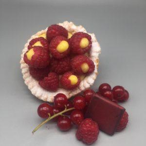 Crostatina crema e frutti di bosco